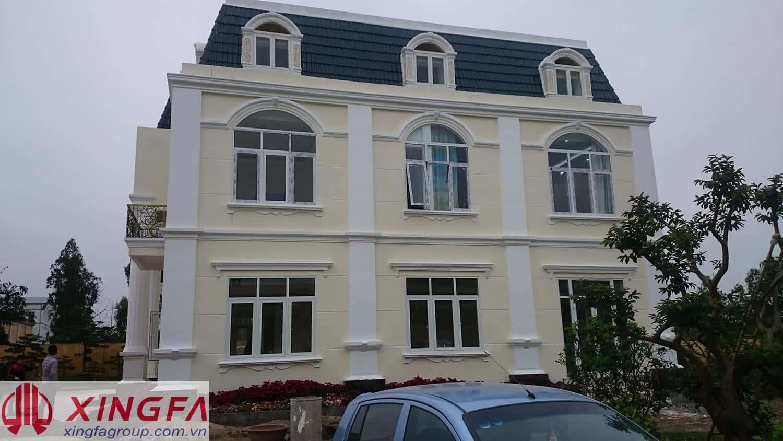 Lắp đặt cửa nhôm Xingfa tại Hưng Hà,Thái Bình