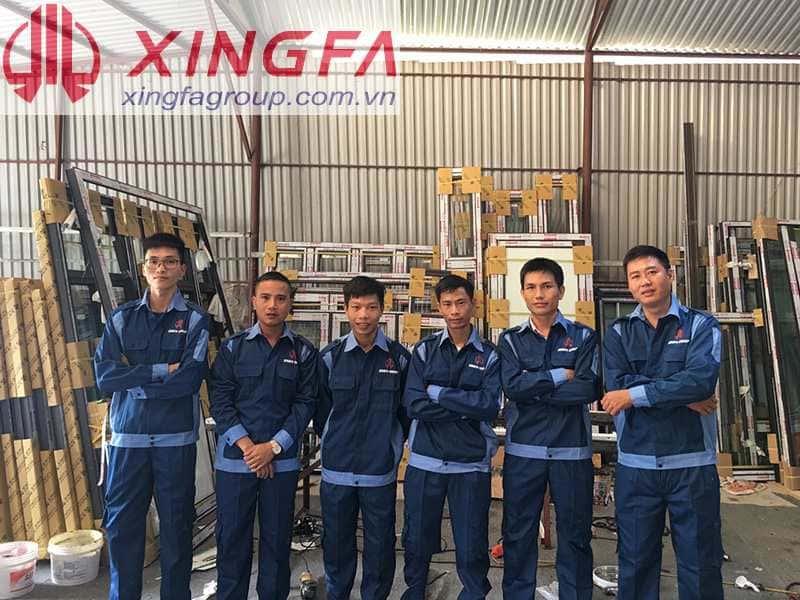 Đội ngũ kỹ thuật của Xingfa Glass luôn mang niềm tin và phong cách chuyên nghiệp đến với khách hàng