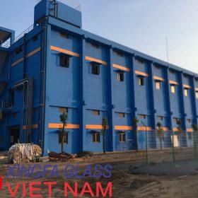 Cửa Nhôm XINGFA - Dự Án Nhà Máy Nước Mặt Sông Đuống