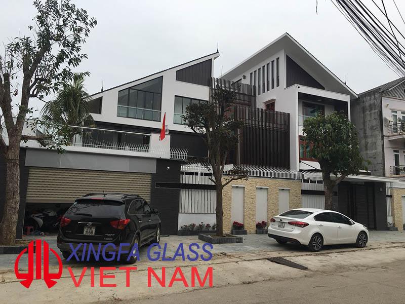 Công trình biệt thự cao cấp sử dụng cửa nhôm XINGFA nhập khẩu chính hãng 1