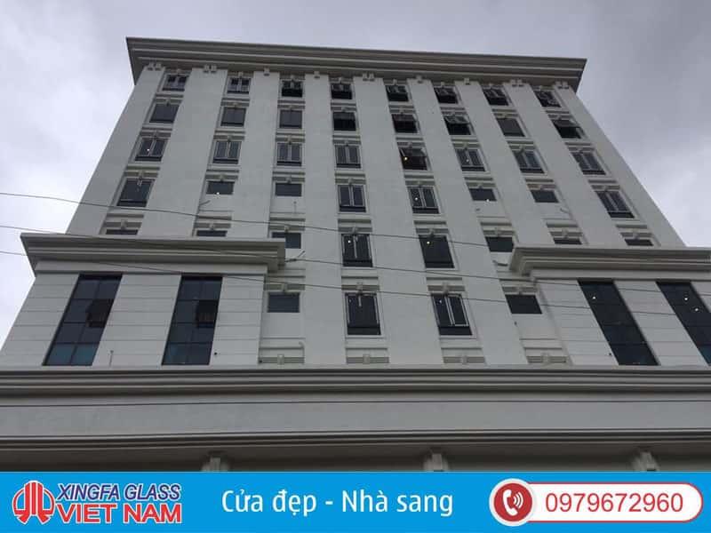 Cửa Sổ Nhôm Xingfa Hệ 55 Lắp Đặt Tại Công Trình Khách Sạn Yên Minh Hà Giang