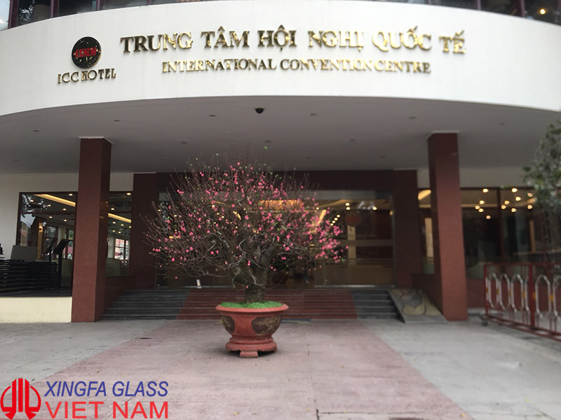 Xingfa Glass Thi Công Cửa Nhôm Kính Trung Tâm Hội Nghị Quốc Tế Hà Nội