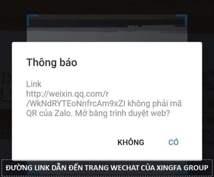 QUET MA NHOM XINGFA