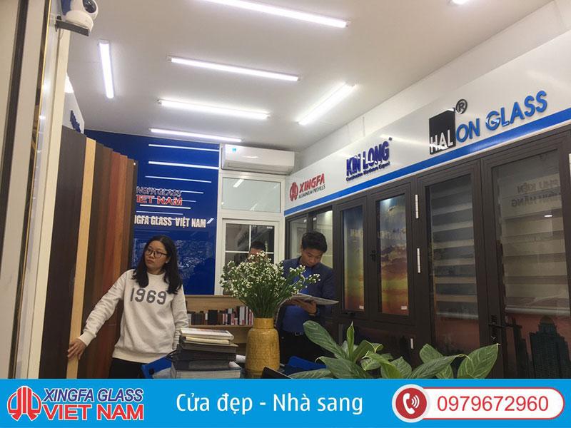 show room cua nhom
