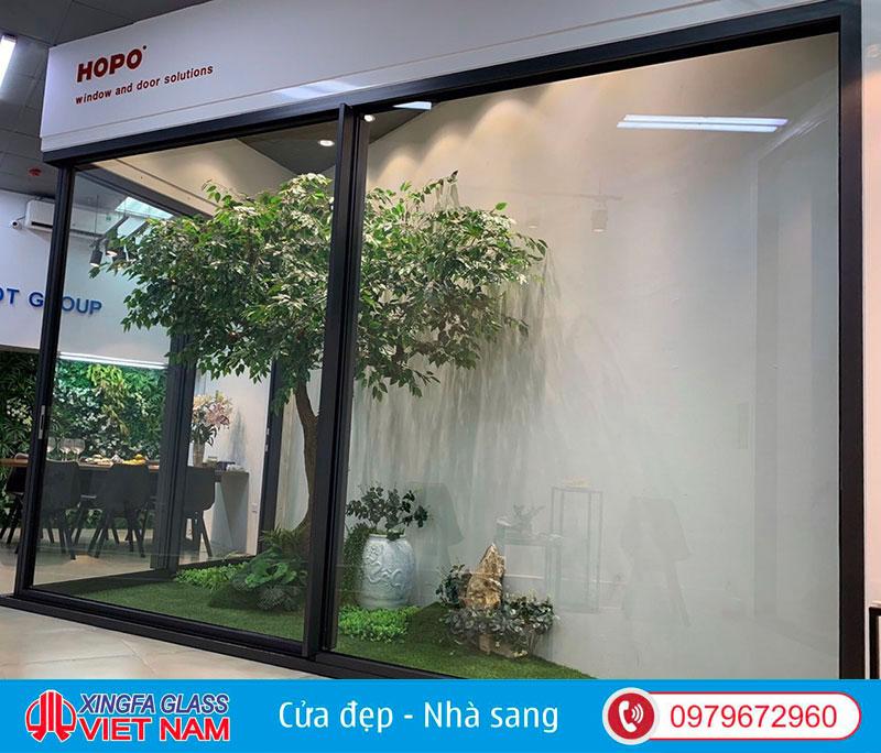 Cửa nhôm Hopo mang lại giải pháp cho cánh cửa mở siêu rộng