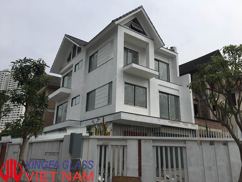 Biệt Thự cao cấp Tịa Hà Đông Hà Nội sử dụng cửa nhôm XINGFA Copy