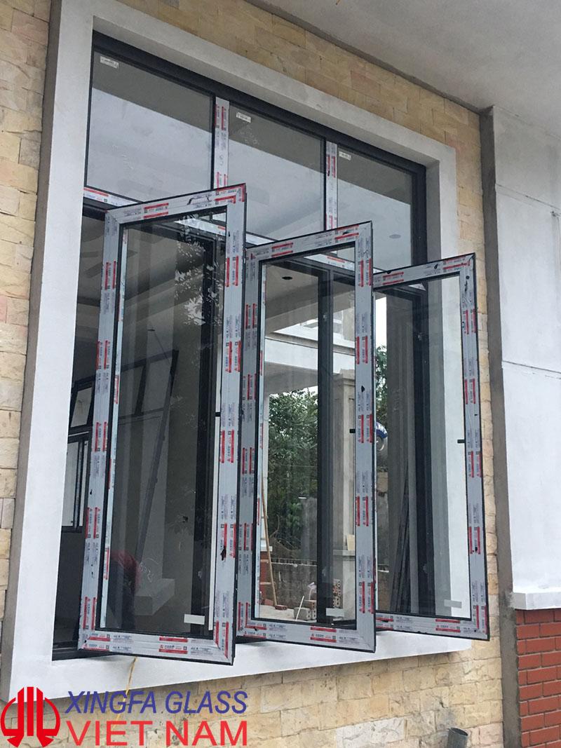 Cửa sổ mở quay nhôm Xingfa hệ 55 - Sản phẩm cửa sổ cao cấp