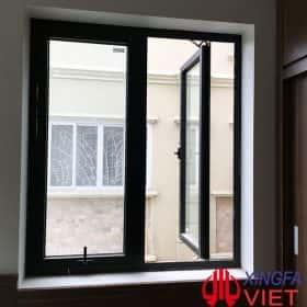 Cửa phòng ngủ nhôm kính Xingfa nhập khẩu chính hãng cùng Xingfa Glass