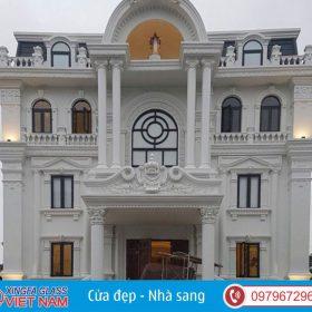 Cửa nhôm kính lâu đài Xingfa nhập khẩu chính hãng