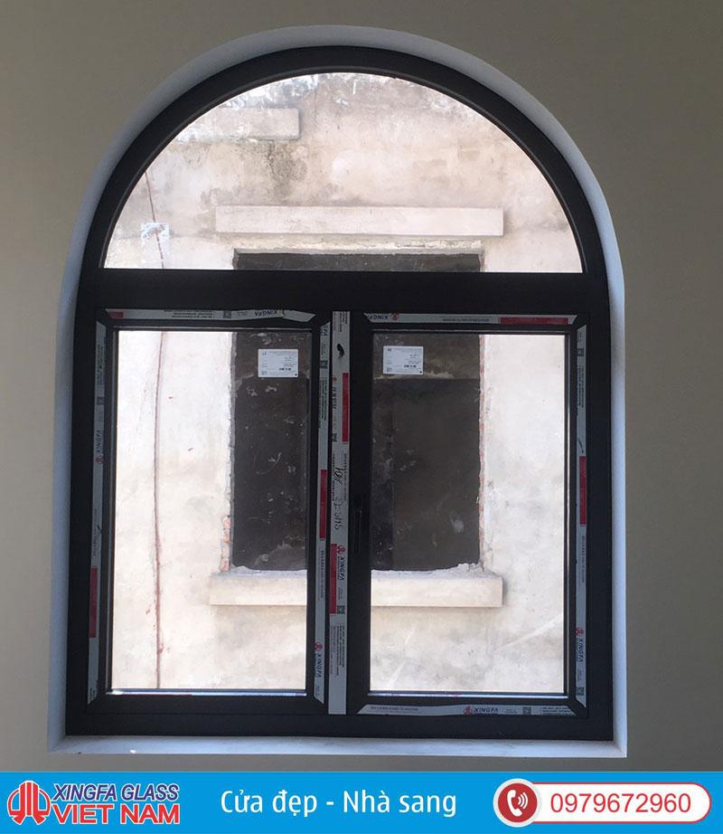 cửa vòm nhom xingfa