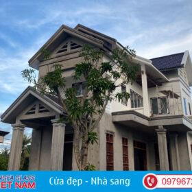 Công Trình Cửa Nhôm Xingfa Huyện Nga Sơn Thanh Hóa