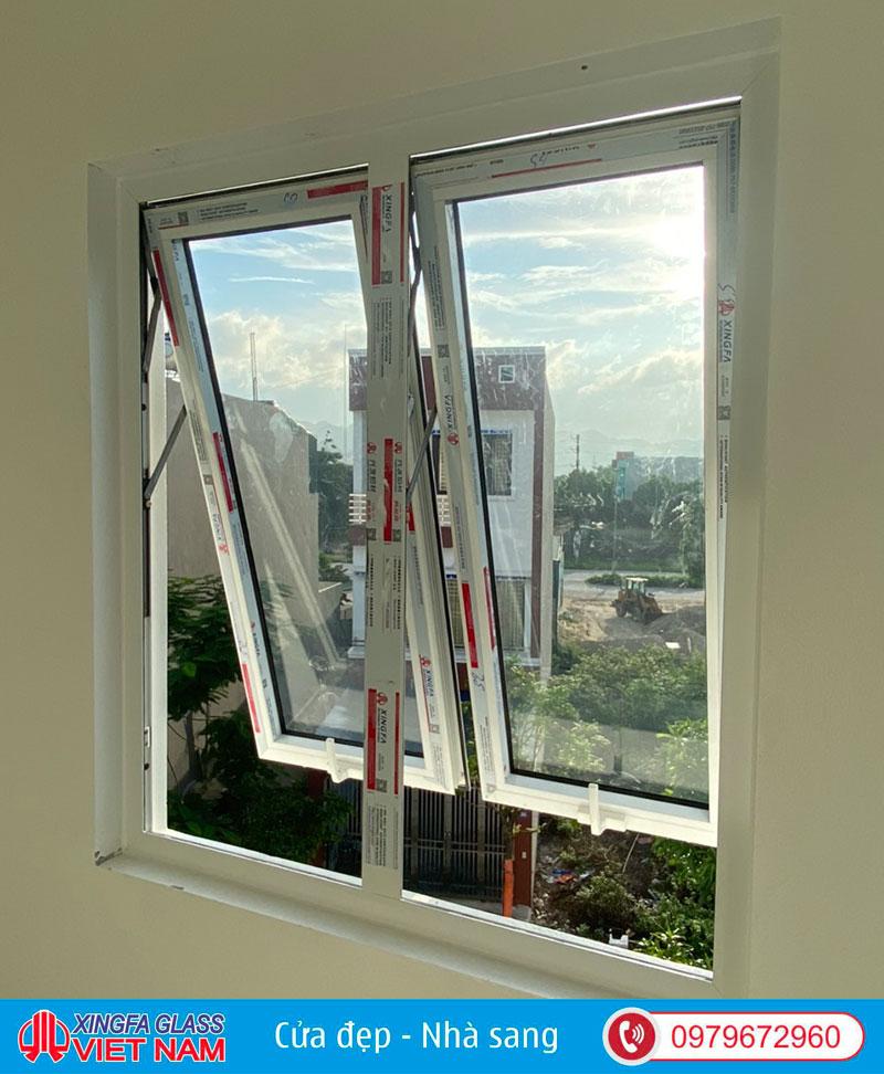 Cửa sổ mở hất 2 cánh độc lập