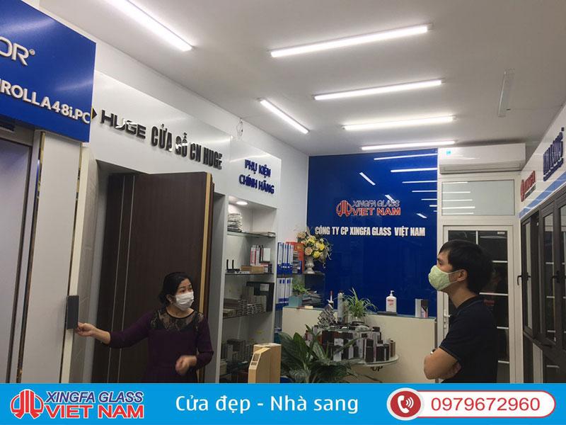 Showroom Cửa Nhôm Xingfa Nhập Khẩu - Xingfa Glass Việt Nam