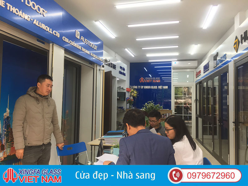 Showroom Xingfa Glass Việt Nam