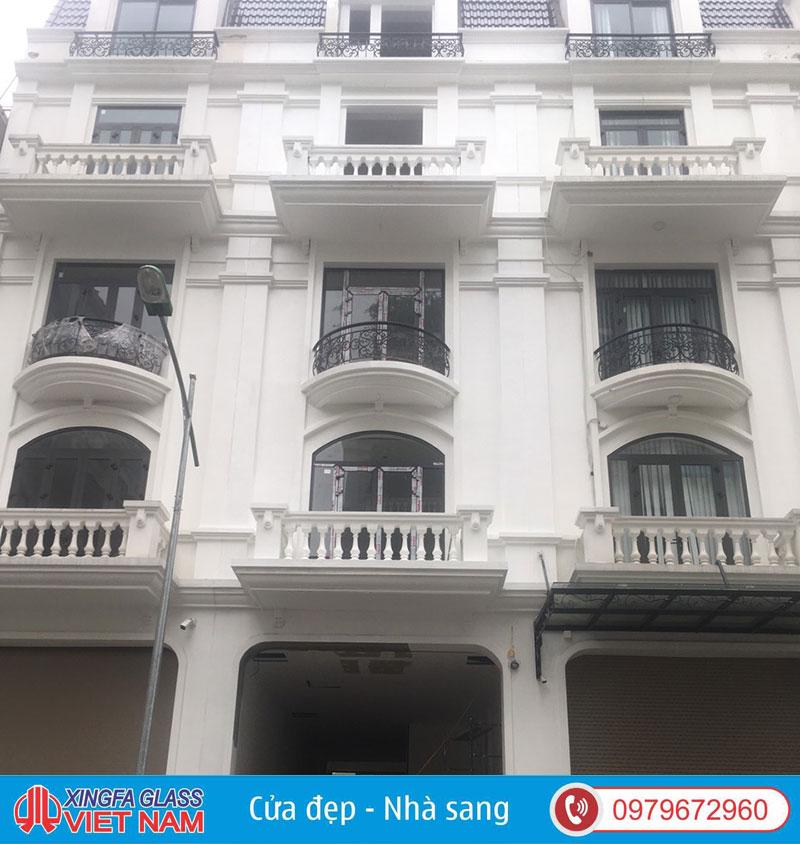 Công Trình Cửa Nhôm Xingfa Quận Cầu Giấy