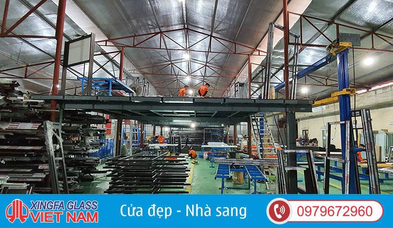 Nhà Máy Sản Xuất Cửa Nhôm Xingfa - Xingfa Glass Việt Nam