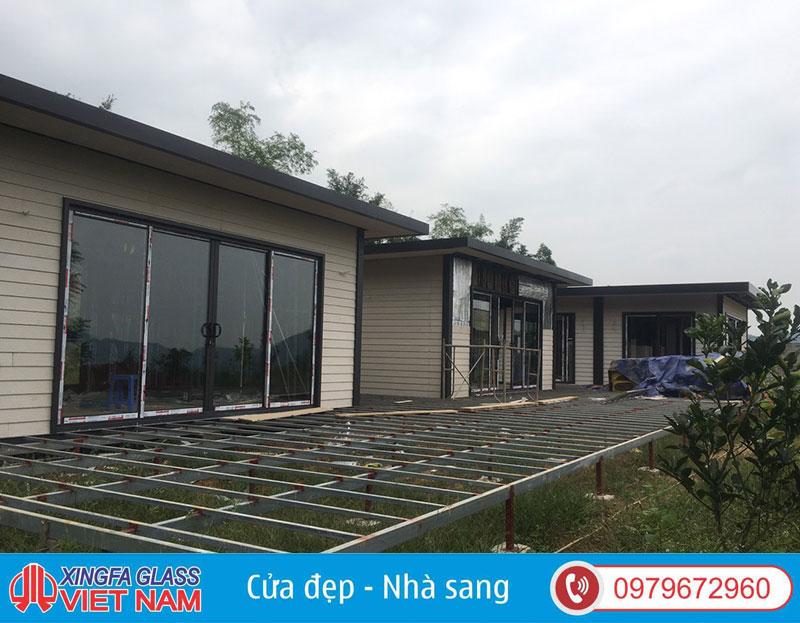 Công Trình Cửa Nhôm Xingfa Thạch Thất- Nhà Homestay