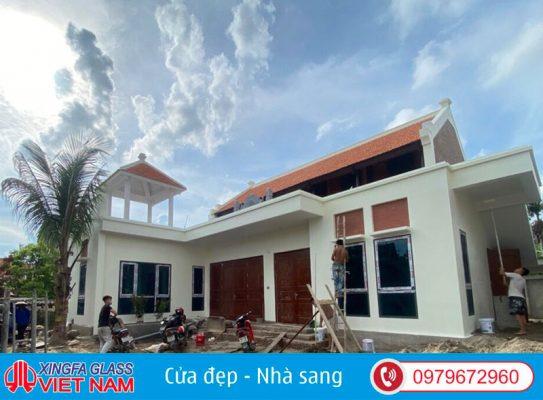 Công Trình Cửa Nhôm Xingfa Thuận Thành Bắc Ninh