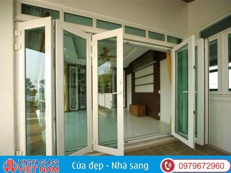Cửa chính nhôm kính Xingfa đảm bảo an toàn chất lượng