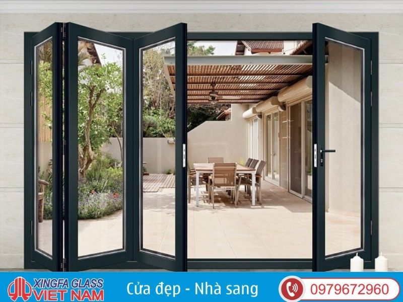 Cửa Xingfa đảm bảo chất lượng vượt trội hơn hẳn so với các thiết kế khác