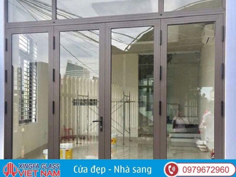 Cửa chính nhôm kính Xingfa chịu lực tốt