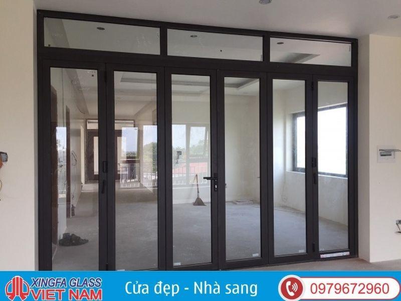 Cửa chính nhôm kính Xingfa nhập khẩu chính hãng