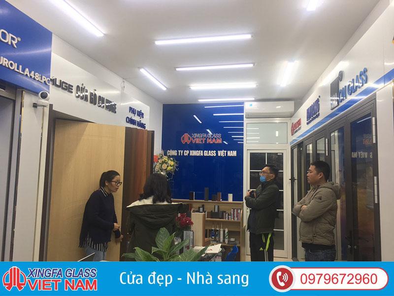 Showroom Cửa Gỗ Công Nghiệp Chính Hãng Xingfa Glass Việt Nam