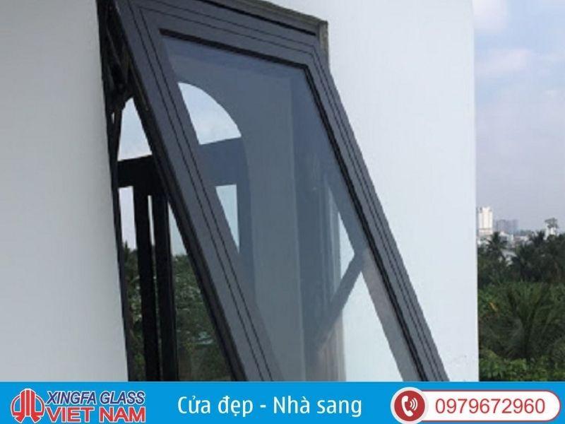 Mẫu cửa sổ Xingfa hất 1 cánh