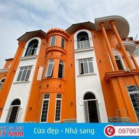 Công Trình Nhà Chị Hương-Cửa Nhôm Xingfa Sóc Sơn Hà Nội