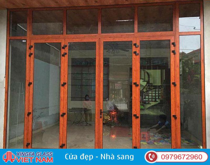Sơn tĩnh điện sử dụng cho Nhôm Xingfa đều là sơn cao cấp