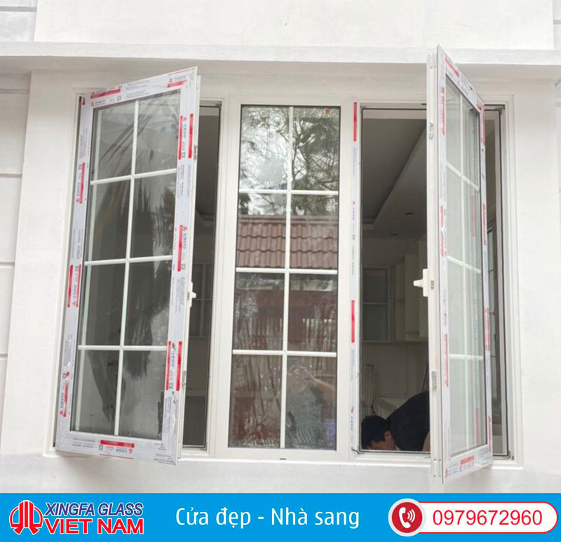 Bản lề cửa nhôm Xingfa có tính thẩm mỹ cao