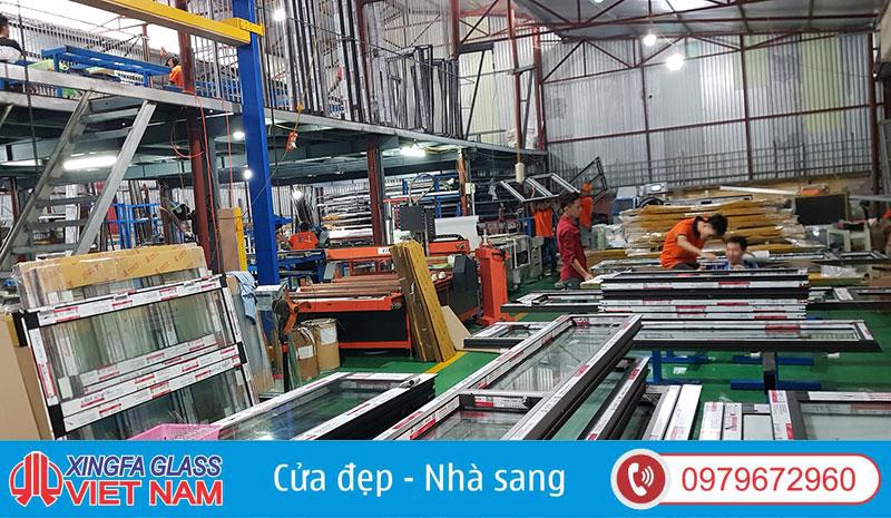 Nhà Máy Sản Xuất Cửa Nhôm Xingfa Glass Việt Nam